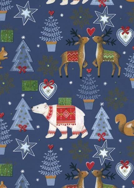 Weihnachtspapier Dessin 49321