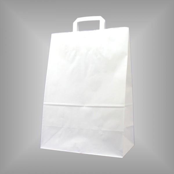 32 x 16 x 45 cm Papiertüten weiß 250 Stück