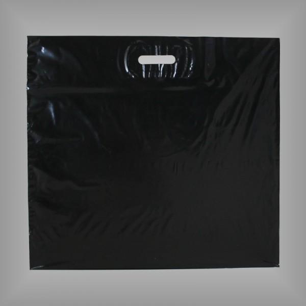 Kunststoff Tragetaschen Folienfarbe schwarz