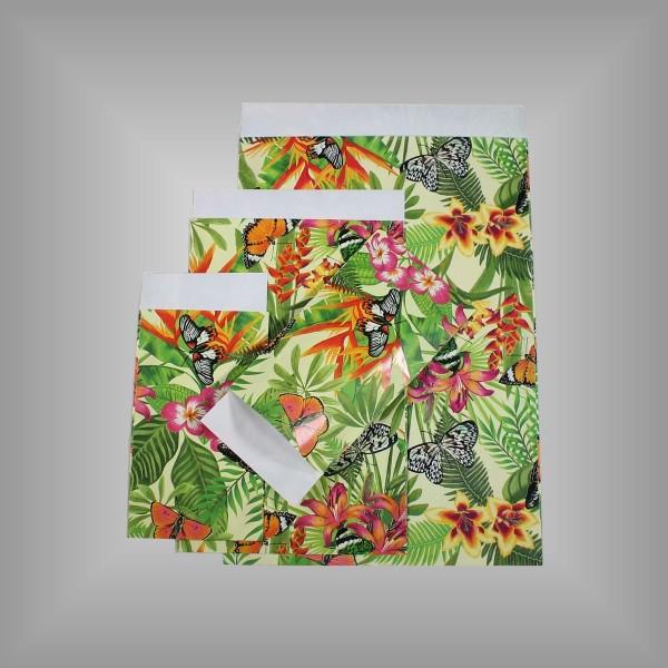 Papierflachbeutel Dschungel