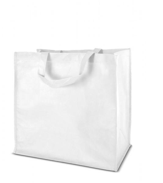 Textiltragetaschen 46 x 44 + 25 cm 1-seitig 2-farbig bedruckt