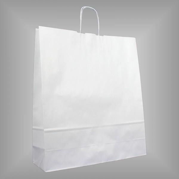 44 x 14 x 50 cm Papiertragetaschen weiß 150 Stück