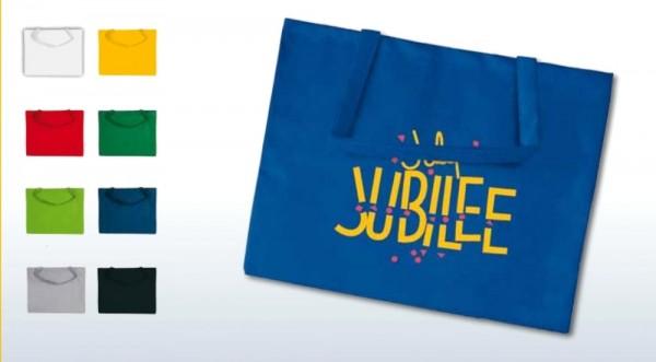 Textiltragetaschen 50 x 40 cm 1-seitig 2-farbig bedruckt